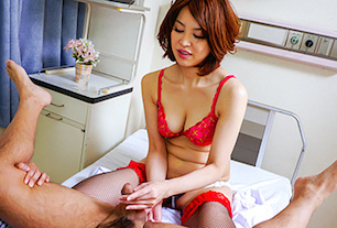 Japanese anal dildo makes Erika Nishino to go nasty